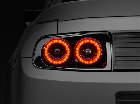 2016 mustang sequential lights raxiom mustang dual halo led lights 397460 13 14 all