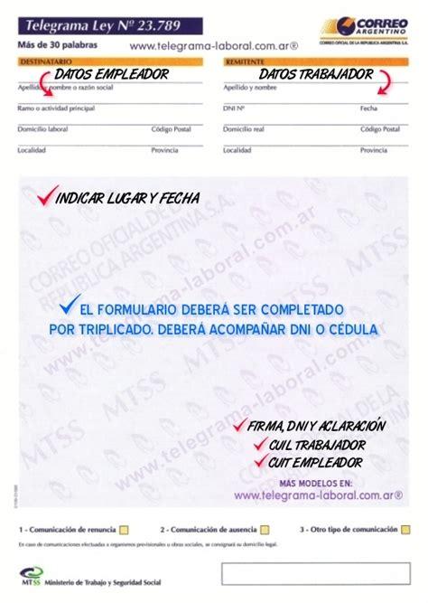 telegrama de renuncia correo argentino taringa bianchi y su primer despido directo en argentina