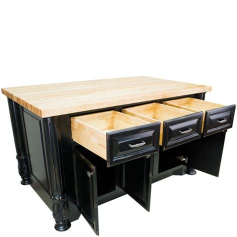 jeffrey alexander kitchen islands hardware resources shop isl05 dbk kitchen island