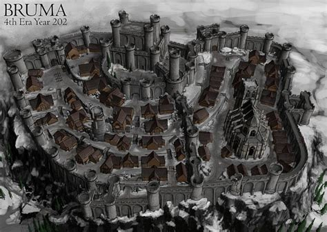skyrim house layout codes bruma development cities and architecture dark creations