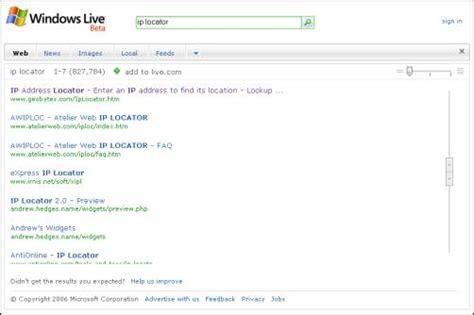 Windows Live Search Windows Live Search