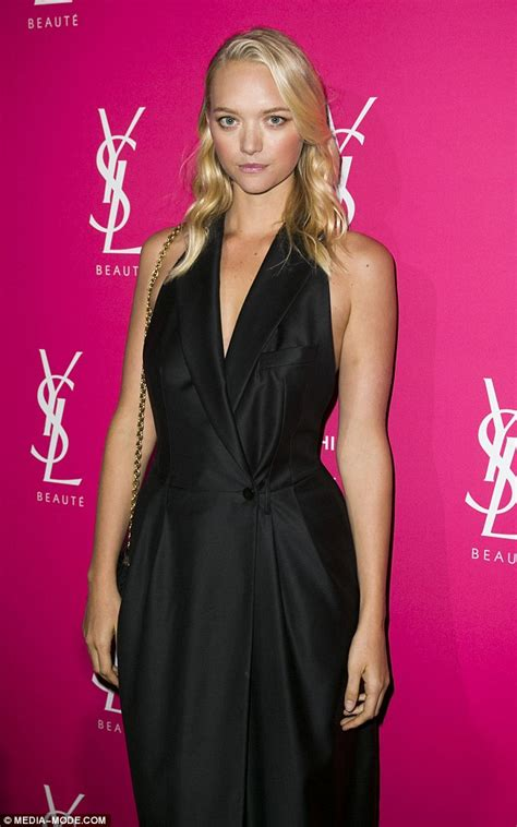 Runway Letdown Whats Up With Marc Bags by Model Gemma Ward Stuns In Tuxedo Dress At Ysl