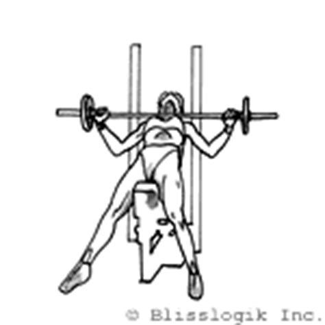 wide grip incline bench press barbell exercises for the chest barbell exercises com