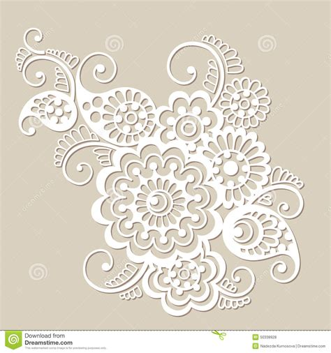 indian ornaments and design elements vector vector floral pattern element indian ornament stock