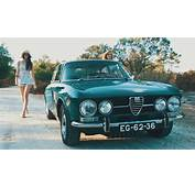 Cool &amp Vintage 71 Alfa Romeo 1750 GTV  Crankandpistoncom
