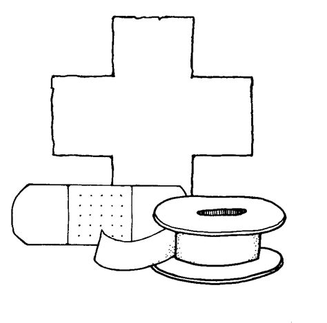 first aid coloring coloring coloring pages
