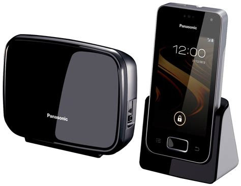 panasonic announces android powered home phone android