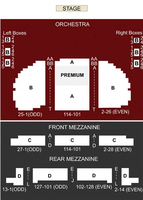 eugene oneill theatre seating views eugene o neill theatre new york ny seating chart