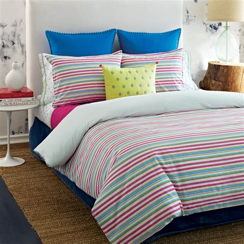 tommy hilfiger coverlet tommy hilfiger priya stripe bedding collection from