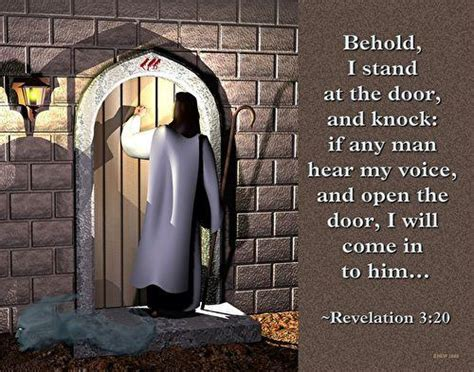 I Stand At The Door by Behold I Stand At The Door Knock Flickr Photo