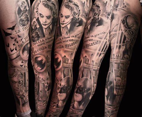 tattoo braccio uomo joker tatuaggi realistici