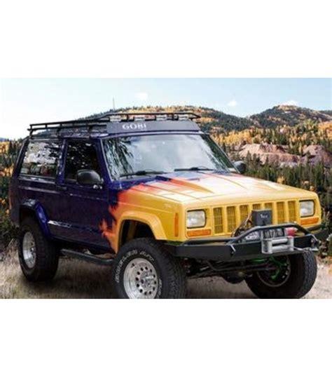 jeep cherokee xj sunroof jeep cherokee xj 183 stealth rack 183 multi light setup 183 no