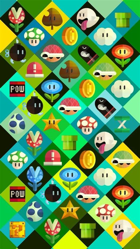 wallpaper wednesday  super mario themed wallpapers