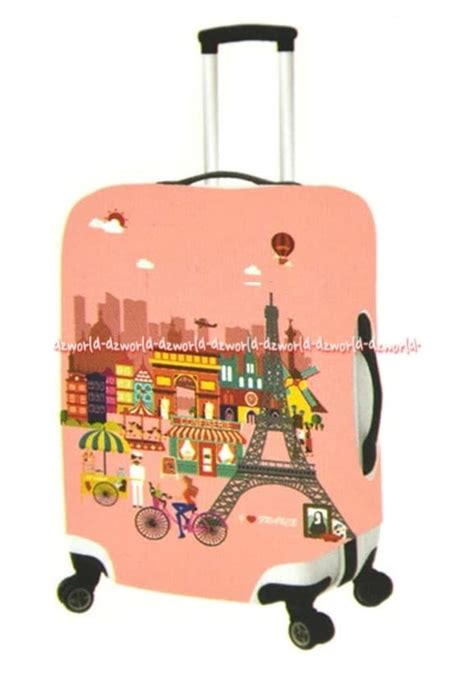 Harga Koper Merk Passport jual passport luggage cover sarung koper motif pink