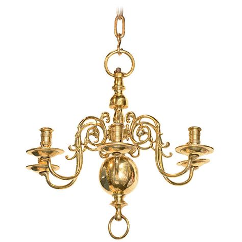Antique Brass Chandeliers For Sale by Six Light Brass Antique Chandelier At 1stdibs
