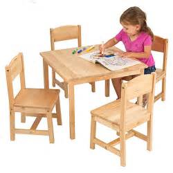 Childrens Tables by Wooden Table And Chairs For Children Marceladick