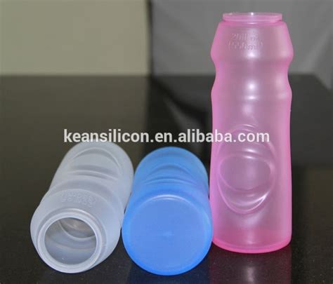 collapsible silicone water bottle eco friendly reusable squeeze container leak proof bpa free