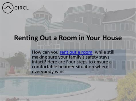 Renting Out A Room by Ppt Renting Out A Room In Your House In Toronto Circl
