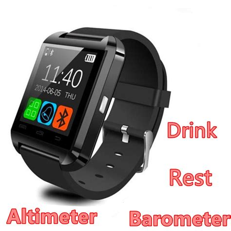 cheap android smartwatch cheap smartwatch altimeter barometer drink clock pedometer wearable bluetooth smart