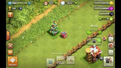 all the clash glitches clash of clans christmas update clash of clans christmas tree glitch christmas tree
