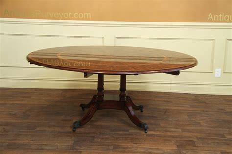expandable formal mahogany dining table with leaves