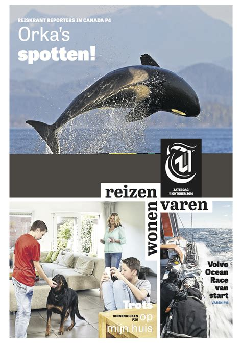 Saturday Travel Section by De Telegraaf It S A New Tabloid Look Where Legacy