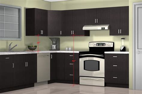 what is the height of kitchen cabinets what is the optimal kitchen wall cabinet height