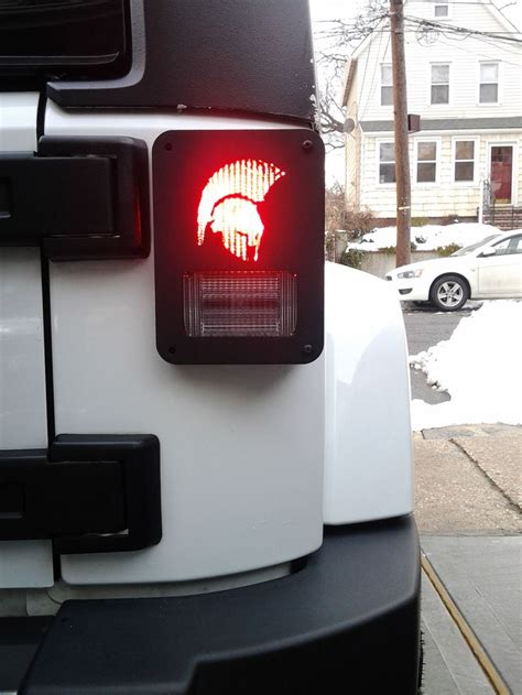 custom jeep tail light covers 1000 images about jeep wrangler taillight guards covers