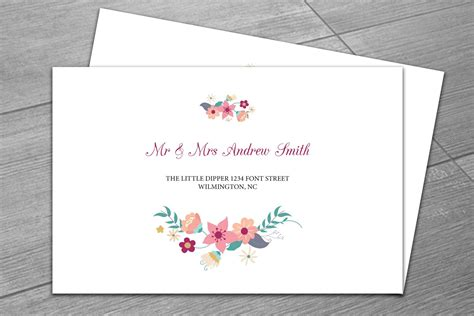 wedding envelope template invitation templates