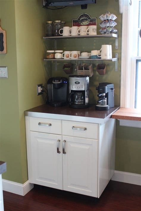 kitchen coffee bar ideas 1000 ideas about ikea salon station on diy