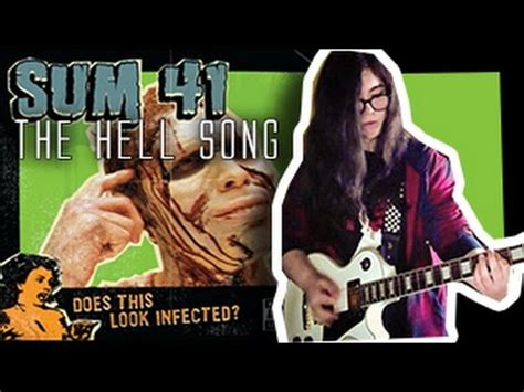 sum 41 the hell song dual guitar bass cover