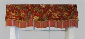 Rust Colored Valances Valances Swags And Window Toppers Thecurtainshop Com
