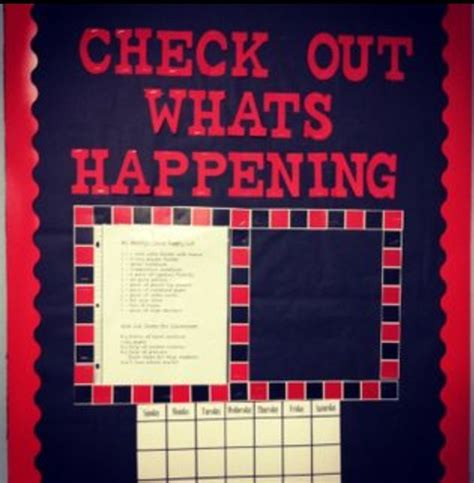 newspaper themed bulletin board checkers game board check out what s happening daily