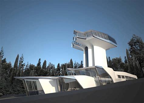 futuristic home russian billionaire builds futuristic spaceship home for