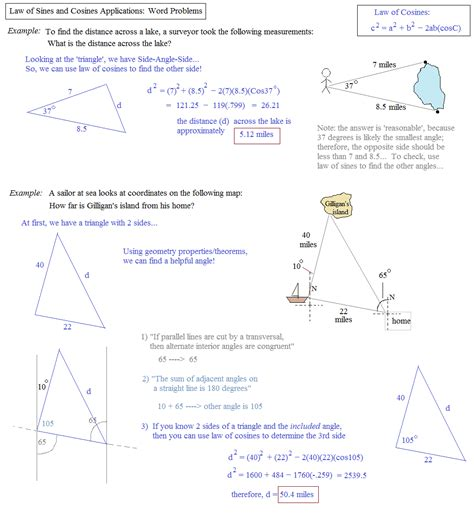 Trigonometry The Of Sines Worksheet Answers by Right Triangle Trig Word Problems Worksheet Worksheets