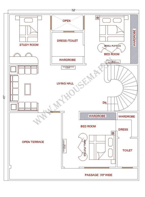 posts house map elevation exterior house design