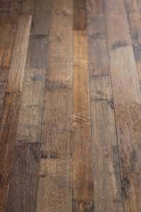 hand scraped wood floors