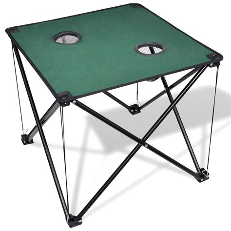 Backpacking Table by Vidaxl Co Uk Foldable Cing Table Green