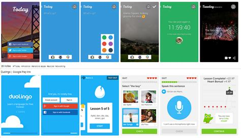 design inspiration apps android thedevline place of inspiration august 2014
