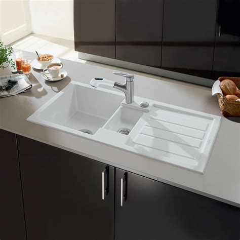 villeroy boch flavia 60 ceramic 1 5 bowl kitchen sink
