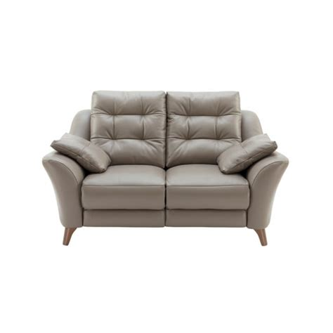 g plan settee g plan pip 2 seater sofa in leather at smiths the rink