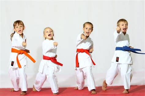imagenes de niños karate el karate beneficioso para los ni 241 os solo artes marciales