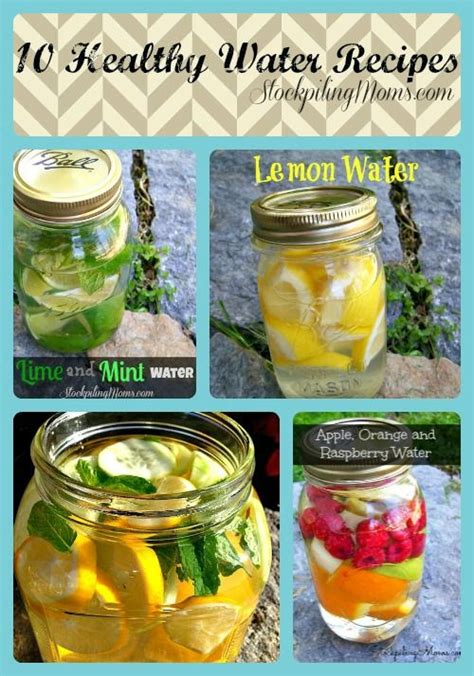 714 Detox Drink by 103 Best Healthy Water Images On
