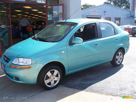2006 aqua chevrolet aveo ls sedan 18396293 gtcarlot car color galleries