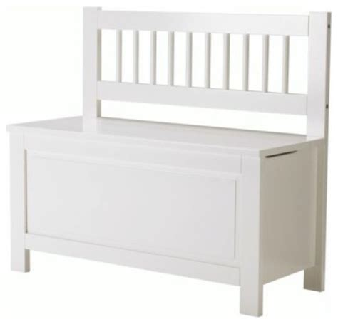 ikea hemnes bench hemnes storage bench scandinavian accent and storage