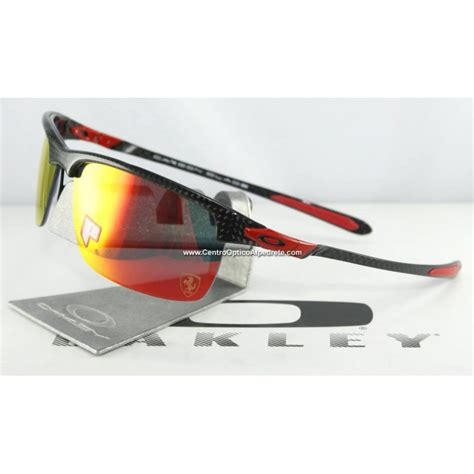 Jual Oakley Carbon Blade sunglasses carbon blade polished carbon ruby iridium polarized oo9174 06