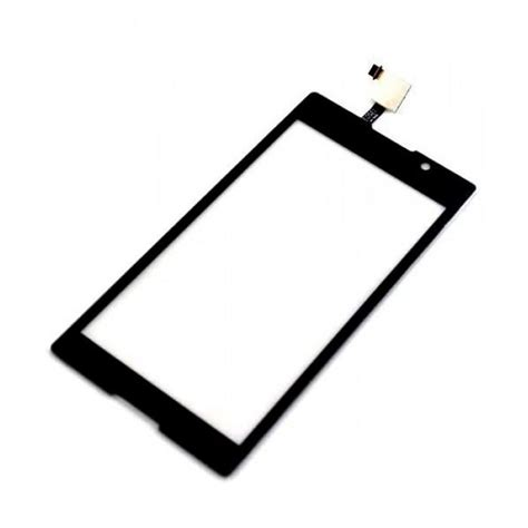 Touchscreen Sony Xperia C touch screen digitizer for sony xperia c hspa plus c2305 black by maxbhi