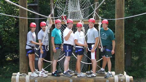 team building challenges for adults hershey outfitters hershey lodge