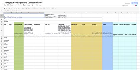 editorial calendar template docs editorial calendar continued calendar template