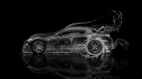 wallpaper black rx mazda rx8 jdm side water car 2014 el tony